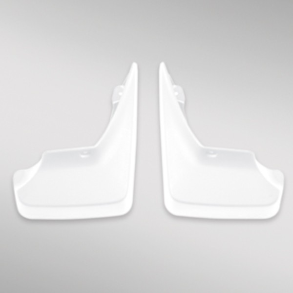2016 Buick LaCrosse Molded Rear Splash Guards, Abalone White