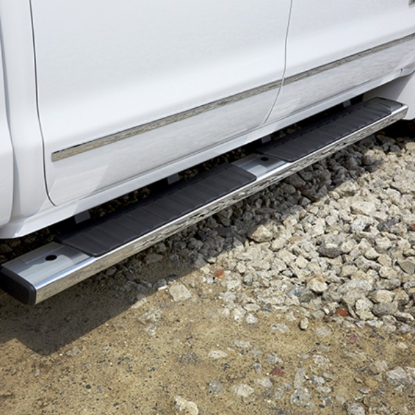 2017 Sierra 2500 Double Cab Assist Steps, 6 Inch Oval