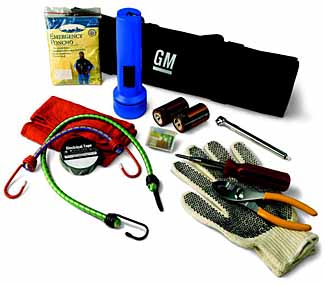 Roadside Assistance Package - Roll Up, Black with