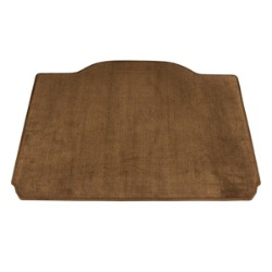 2014 Encore Cargo Area Mat, Premium Carpet, Saddle