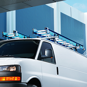 2017 Savannah Van Roof Rack Cross Rail Package, Chrome