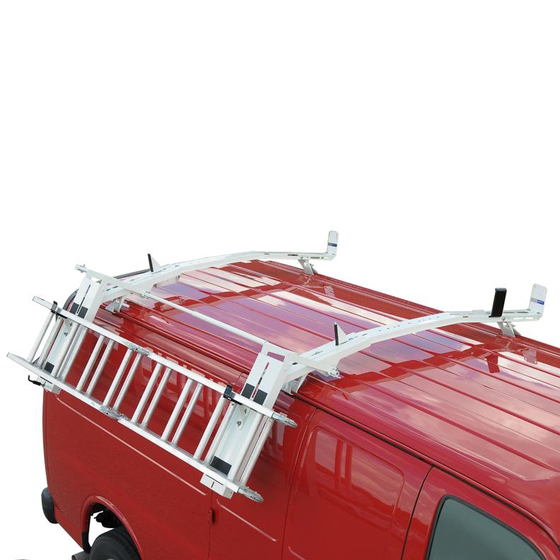 2016 GMC Savana Ladder Rack, Roof Mounted