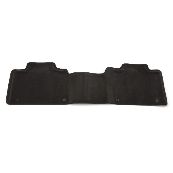 Floor Mats - Rear Molded Carpet - Second Row 1 Piece, Ebony w/o
