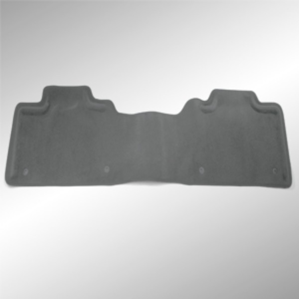 Floor Mats - Rear, Molded Carpet - 1 Piece, Crew Cab, Titanium