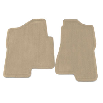 Floor Mats - Front - Molded Carpet - GMC Logo, Extended or Crew