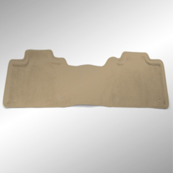 Floor Mats - Rear, Molded Carpet - 1 Piece, Crew Cab, Cashmere