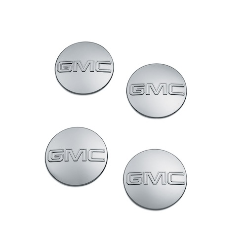 2017 Canyon Center Cap - GMC Logo, Chrome - set of 4pcs