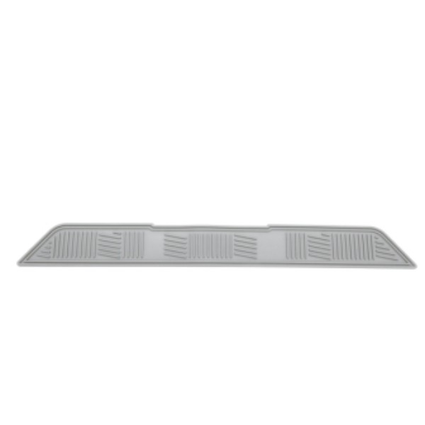 Floor Mat - Third Row 1 Piece, Gray w/o Logo