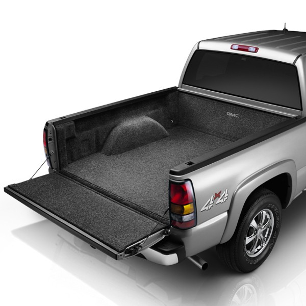 2013 Sierra 3500 Carpet Bed Rug, GMC Logo, 8' Box, with CMS