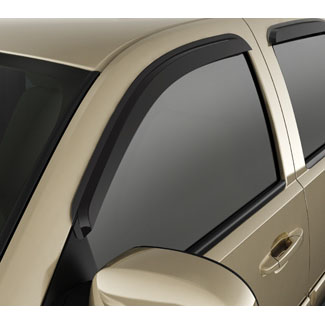 Side Window Weather Deflector, Front and Rear Sets, Crew Cab, Sm