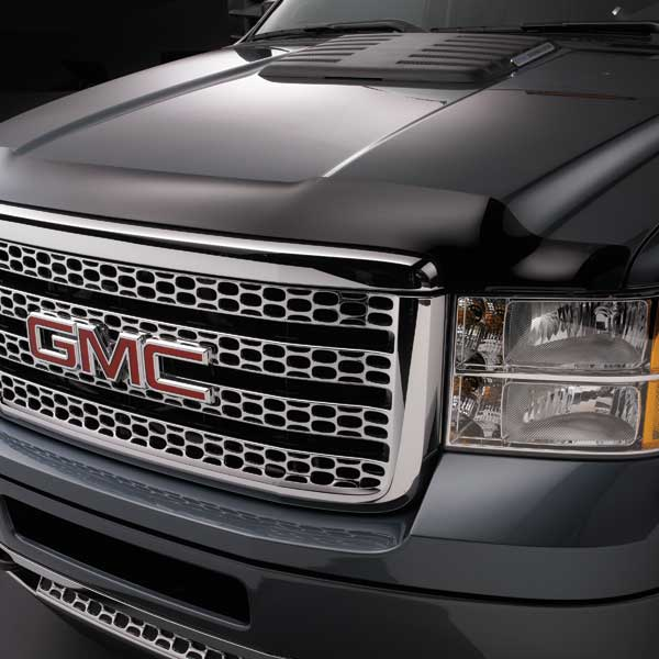 Sierra Molded Hood Protector, Smoke, 2500 and 3500 Models ...