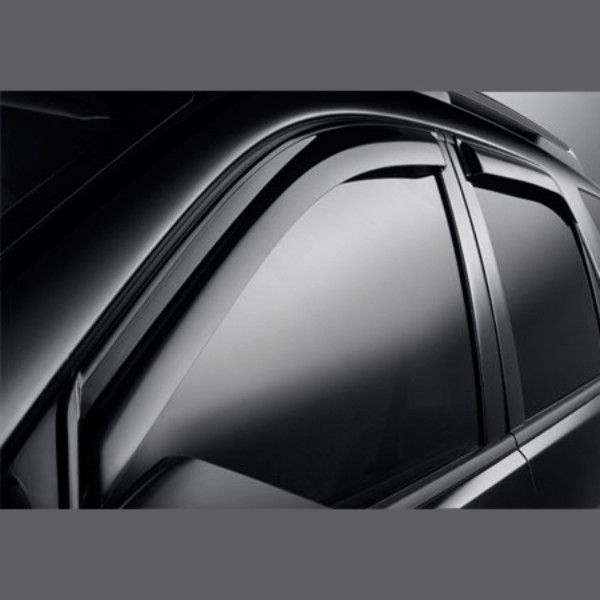 2015 Terrain Side Window Weather Deflector, Front and Rear Sets, Smoke