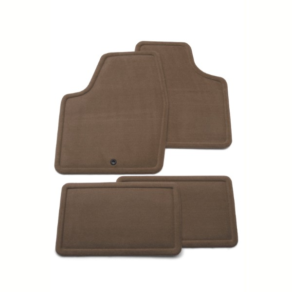 Floor Mats - Rear Carpet Replacements - Second Row Set, Titanium