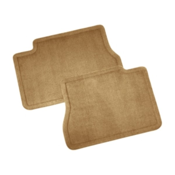 Floor Mats - Carpet Replacements - Second Row Set, Cashmere w/o
