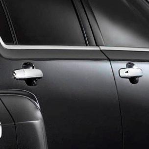 Terrain Outside Door Handles, Chrome, Front and Rear Sets