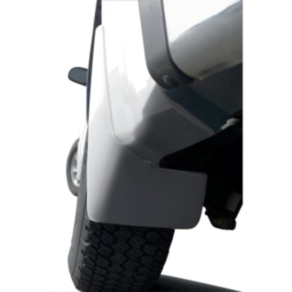 Splash Guards, Rear Set, 50U Summit White