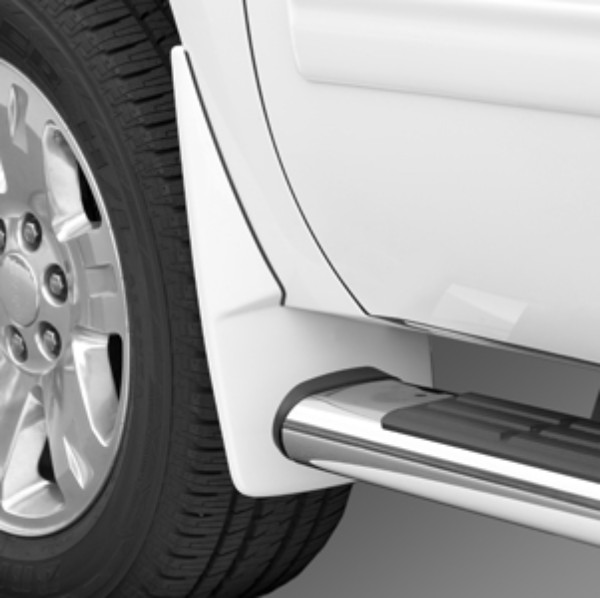 2014 Yukon Splash Guards Front Molded, White (50U)
