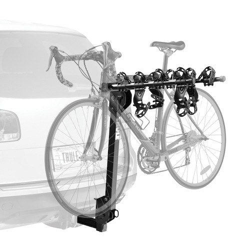 Hitch-Mounted Bicycle Carrier - Thule Roadway 4 Bike Hitch Rack