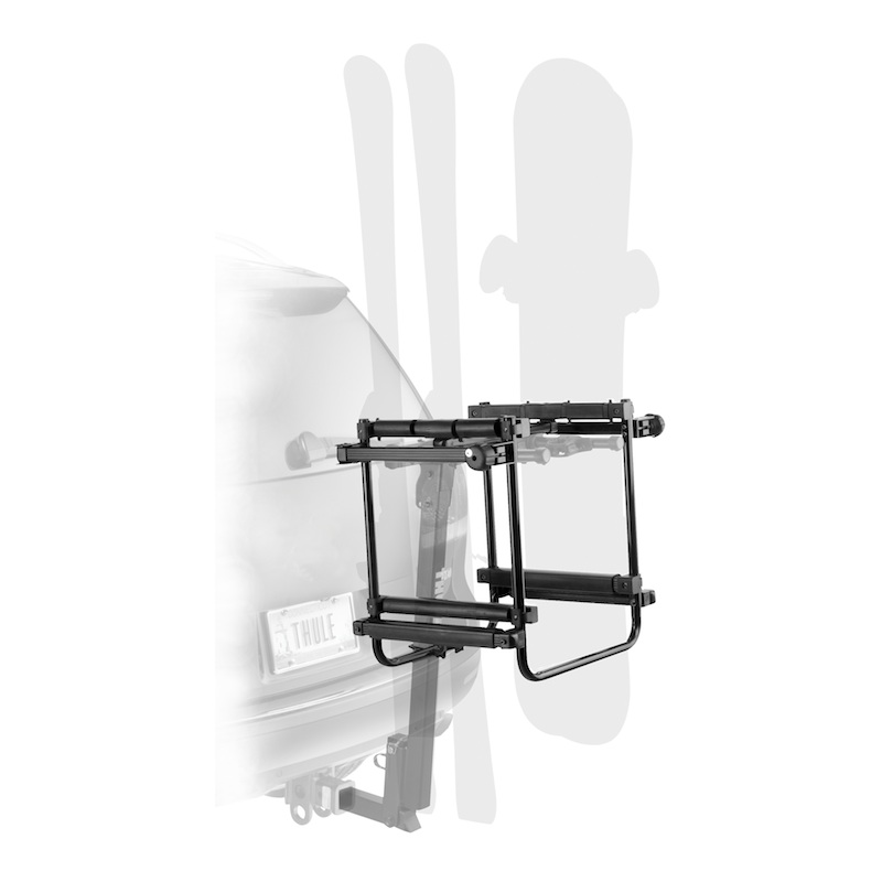 Hitch-Mounted Ski Carrier - Thule Hitch Ski Carrier