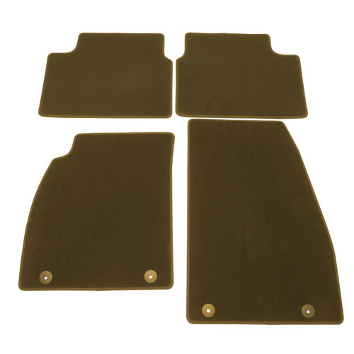2014 LaCrosse Floor Mats, Front and Rear Molded Carpet, Cashmere