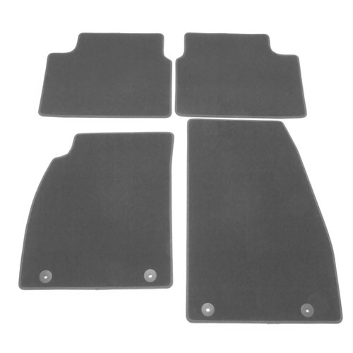 2014 LaCrosse Floor Mats, Front and Rear Molded Carpet, Titanium