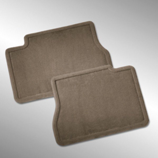 2017 Sierra 2500 Rear Floor Mats, Carpet Replacements, Cocoa