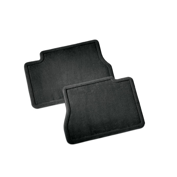 2016 Sierra 1500 Rear Floor Mats, Carpet Replacements, Ebony