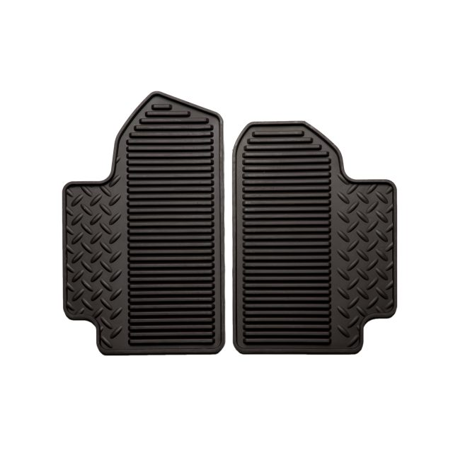 2017 Sierra 2500 Rear Floor Mats, Vinyl Replacement, Double Cab, Co