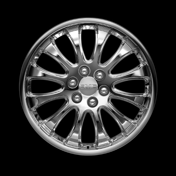 2014 Yukon Denali 22 Inch Wheel CK910 Chrome SES - SINGLE