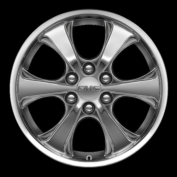 2014 Yukon Denali 20 Inch Wheel CK370 Chrome VZK - SINGLE