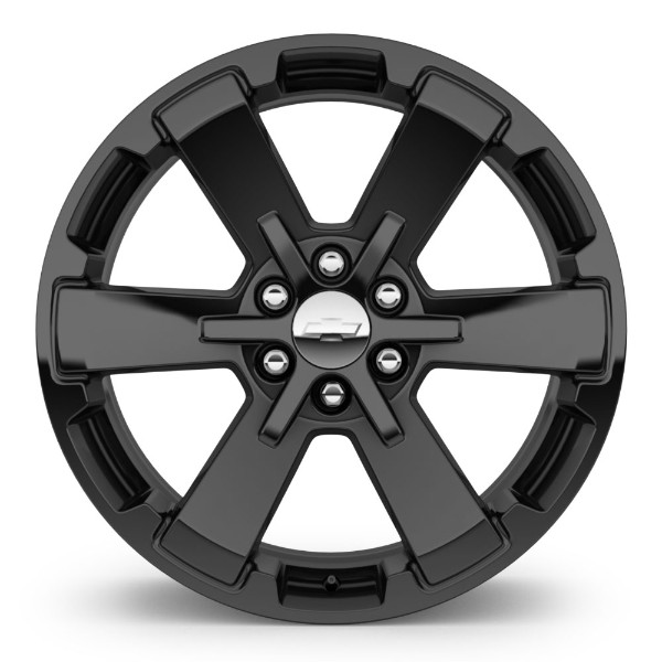 2014 Sierra 1500 22 inch Wheel, High Gloss Black, CK162 SEV, SINGLE