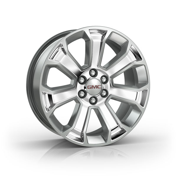2014 Sierra 1500 22 inch Wheel, Silver, CK163 SF1, SINGLE