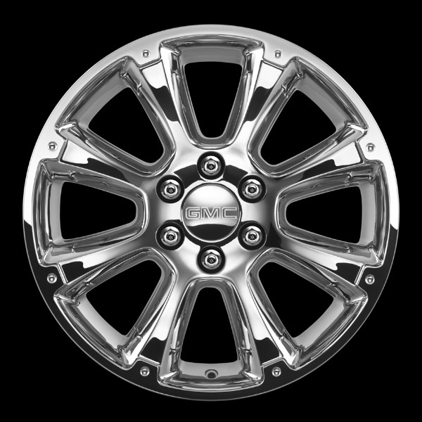 2014 Yukon Denali 22 Inch Wheel CK916 Chrome VSK - SINGLE