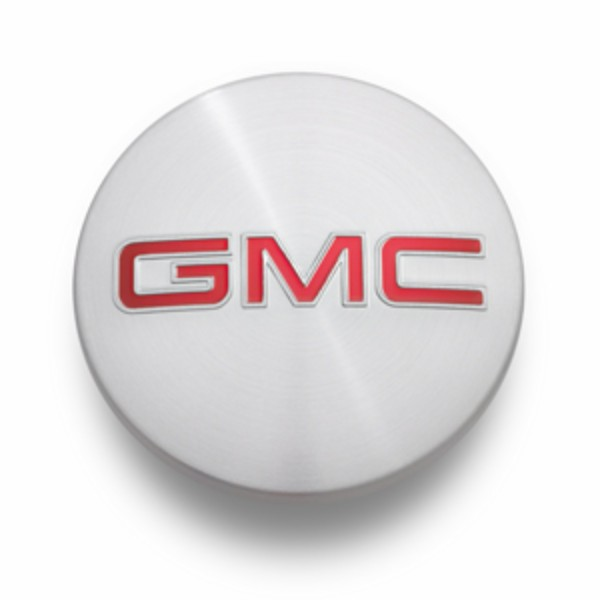 2014 Sierra 1500 Center Caps, Brushed Aluminum with GMC Logo- SINGLE