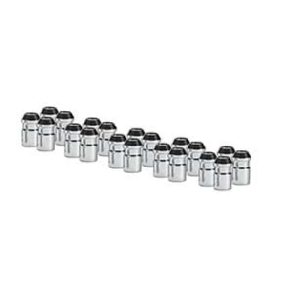 2018 Canyon Lug Nut Set, 24 pieces, Stainless Steel Caps