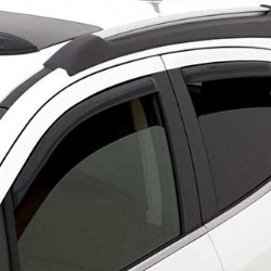 2017 Encore Side Window Weather Deflector, Smoke Black