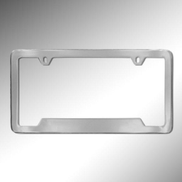 2015 Yukon XL License Plate Holder, Chrome