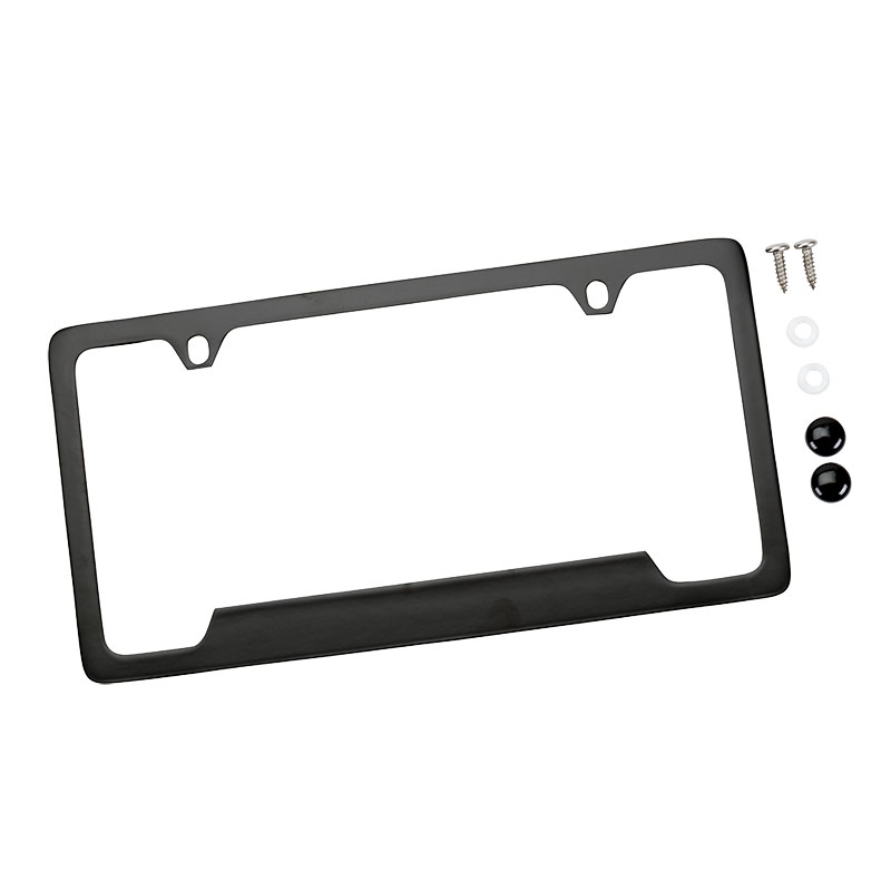 2015 Yukon XL License Plate Frame, Black