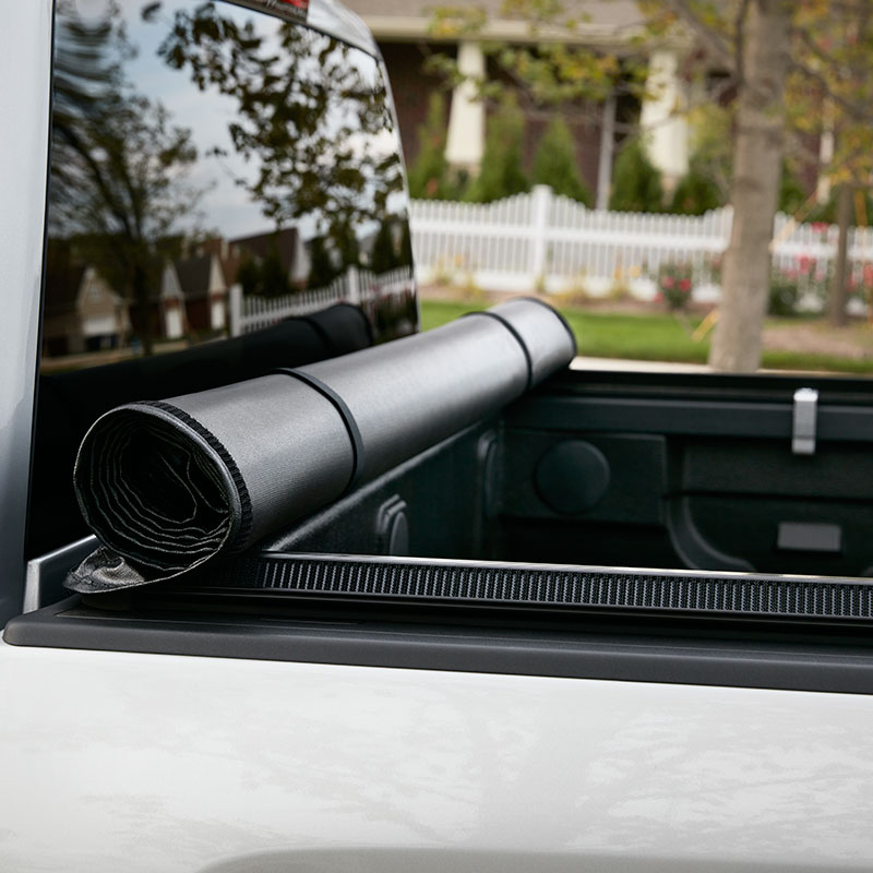 2017 Sierra 1500 Tonneau Cover Sport Roll Soft Roll-Up 5' 8""