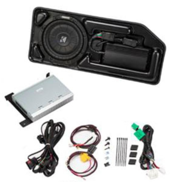 19333507 2017 canyon crew cab audio upgrade, kicker amp and sub system  at crackthecode.co