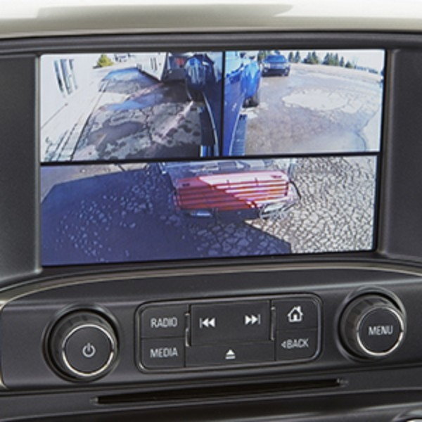 2017 Sierra 1500 Three Trailering Camera System Package for MYLINK