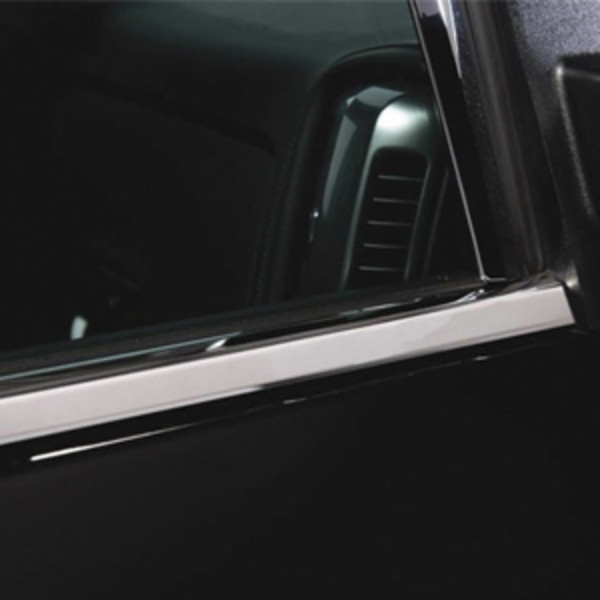 2018 Sierra 2500 Window Trim Accents, ShopGMCParts.com
