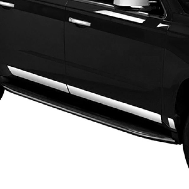 2018 Yukon Bodyside Molding Package, Stainless Steel Rocker Panels