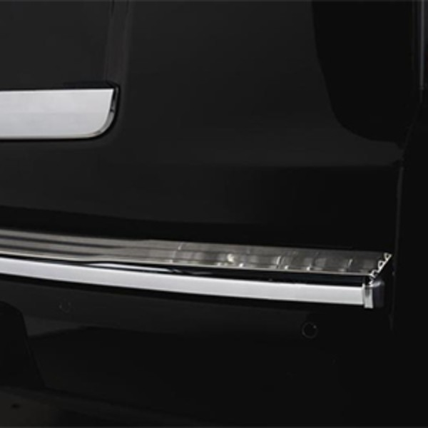 2018 Yukon Bodyside Molding Package, Stainless Steel Rear Bumper Cover