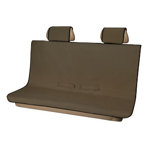 2018 Cayon Pet Friendly Rear Bench Seat Cover, Brown