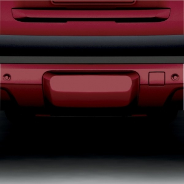2014 Yukon Trailer Hitch Closeout or Access Hole Cover, Crystal Red 89U