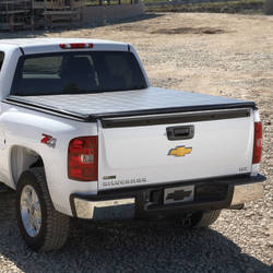 2013 Sierra 1500 Tonneau Cover - Hard Folding, 8' Long Box, Premium Ragtop