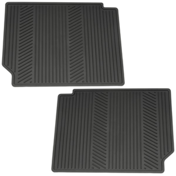 2015 Terrain Floor Mats Rear Premium All Weather, Black