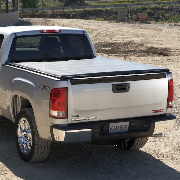 2013 Sierra 1500 Tonneau Cover, Soft Folding, 6 Ft 6 inch Standard Box