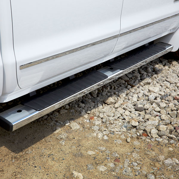 2016 Sierra 1500 Assist Steps, 6 inch Oval, Double Cab, Chrome